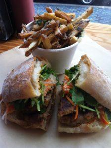 Sandwich @ Lardo. Delicious.