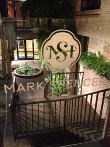 Front entrance of the Mark Spencer, Portland.